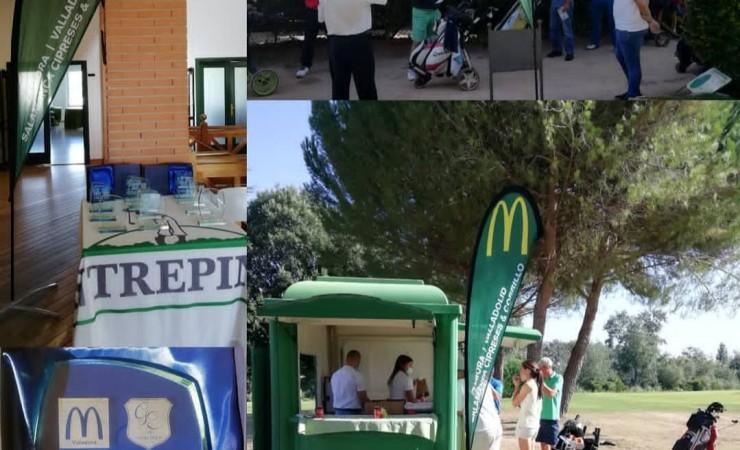 Calor y buenos resultados en el I Premio McDonald's Valladolid disputado en Golf Entrepinos