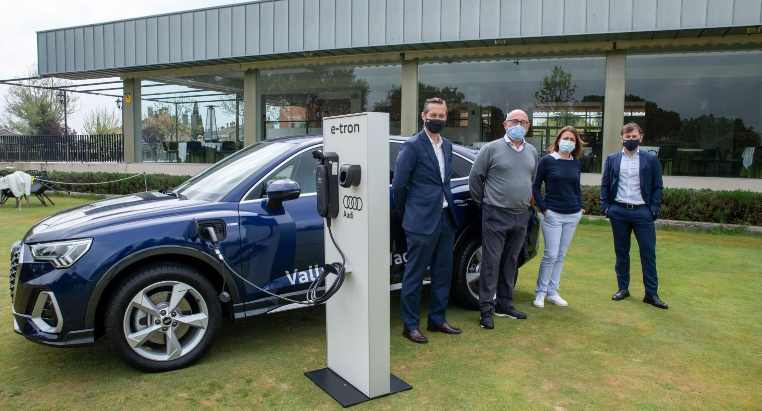 Valladolid Wagen Audi y  Golf Entrepinos firman su acuerdo de colaboración.